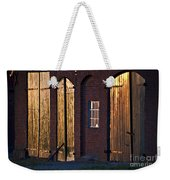 Barn Door Lighting Weekender Tote Bag