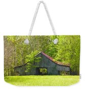 Barn From The Forgotten Farm Weekender Tote Bag