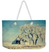 Winter Time Blues Weekender Tote Bag