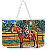 Barn Horse Two Weekender Tote Bag