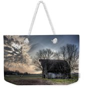 Barn In A Field With A Horse Weekender Tote Bag