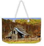 Barn In Fall Weekender Tote Bag by Marty Koch