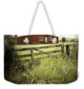 Barn In Field Weekender Tote Bag