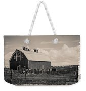 Barn In Polaroid Weekender Tote Bag