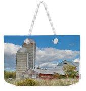 Barn In The Clouds Weekender Tote Bag