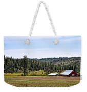 Barn In The Trees Weekender Tote Bag