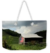 Barn In The Usa Weekender Tote Bag by Karen Wiles