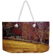 Barn In The Woods-featured In Barns Big And Small Group Weekender Tote Bag