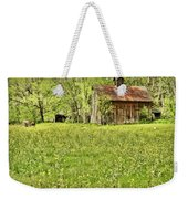 Barn In Wild Turnips Weekender Tote Bag