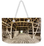 Barn Interior Weekender Tote Bag