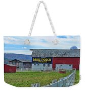 Barn - Mail Pouch Tobacco Weekender Tote Bag