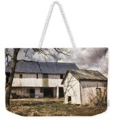 Barn Near Utica Mills Covered Bridge Weekender Tote Bag
