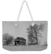 Barn On A Hill In Iowa Weekender Tote Bag