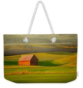Barn On The Palouse Weekender Tote Bag