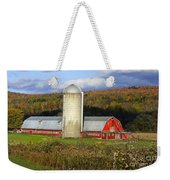 Barn On The River Rd. Weekender Tote Bag