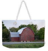 Barn On The Road Weekender Tote Bag