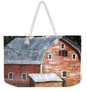 Barn On Va Creeper Trail Weekender Tote Bag