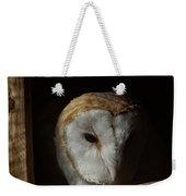 Barn Owl 5 Weekender Tote Bag