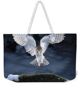 Barn Owl Landing Weekender Tote Bag
