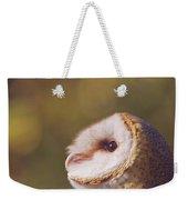 Barn Owl Photo Millie Weekender Tote Bag