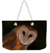 Barn Owl Portrait II Weekender Tote Bag