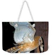 Barn Owl With Rat Weekender Tote Bag