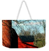 Barn Shadows Weekender Tote Bag