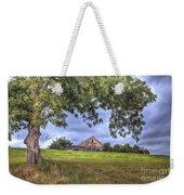 Barn Under A Tree. Weekender Tote Bag