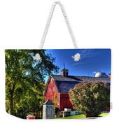 Barn With Out-sheds Brunner Family Farm Weekender Tote Bag