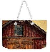 Barn With Weathervane Weekender Tote Bag by Jill Battaglia
