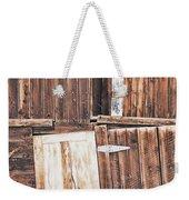 Barn Wood Weekender Tote Bag