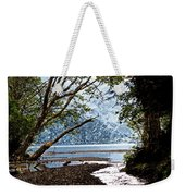 Barnes Creek At Lake Crescent - Washington Weekender Tote Bag