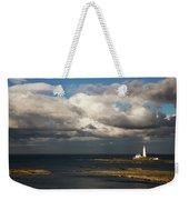 Barns Ness Lighthouse  East Lothian Weekender Tote Bag