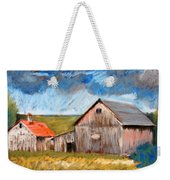 Barns On Maple Street Weekender Tote Bag