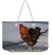 Barnyard Rooster Weekender Tote Bag