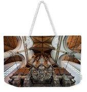 Baroque Grand Organ In Oude Kerk Weekender Tote Bag