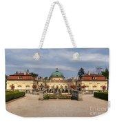 Baroque Landmark - Buchlovice Castle Weekender Tote Bag