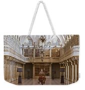 Baroque Library  Weekender Tote Bag by Jose Elias - Sofia Pereira