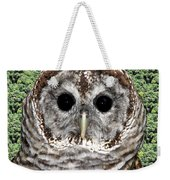 Barred Owl 1 Weekender Tote Bag