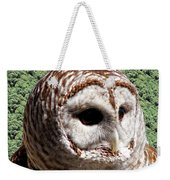 Barred Owl 2 Weekender Tote Bag