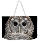 Barred Owl 3 Weekender Tote Bag