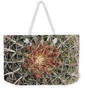 Barrel Cactus Weekender Tote Bag