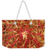 Barrel Cactus Weekender Tote Bag