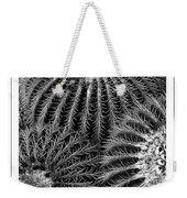 Barrel Cactus Poster Weekender Tote Bag