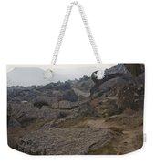 Barren Landscape South Of Qobustan Weekender Tote Bag
