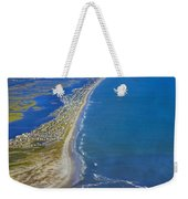 Barrier Island Aerial Weekender Tote Bag
