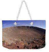 Barringer Crater, Fisheye View Weekender Tote Bag