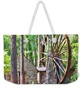 Berry College's Old Mill - Square Weekender Tote Bag