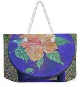 Barstool Hibiscus Weekender Tote Bag
