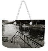 Barton Springs Pool In Austin Weekender Tote Bag